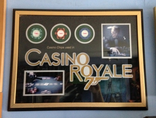Casino Chips Display