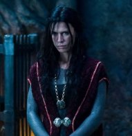 Rhona Mitra and Bill Nighy star in Screen Gems' action thriller Underworld: Rise of the Lycans.