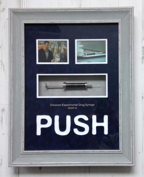 Push Syringe Prop