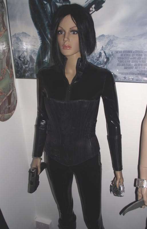 ... Selene in Underworld Evolution and features a single bullet hole on the front of the corset and a smaller exit wound on the back. The boots are replicas ...  sc 1 st  The Prop Tank & Underworld Evolution u2013 Selene (Kate Beckinsale) Costume | The Prop Tank