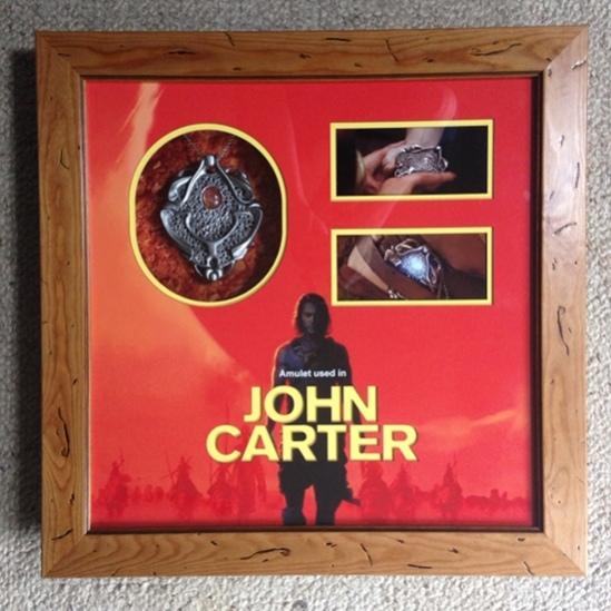 John Carter Amulet Display