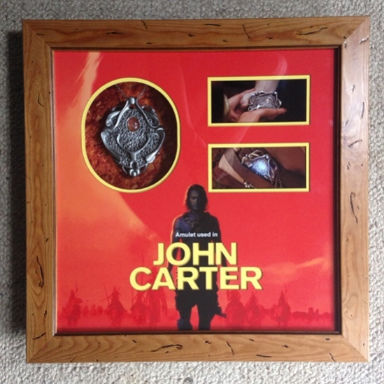 John Carter Amulet Display