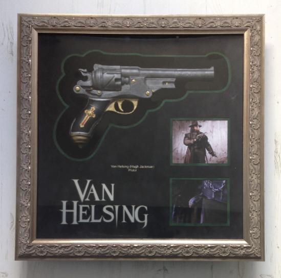 Van Helsing Pistol Display