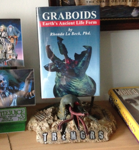Tremors Graboid Book Prop