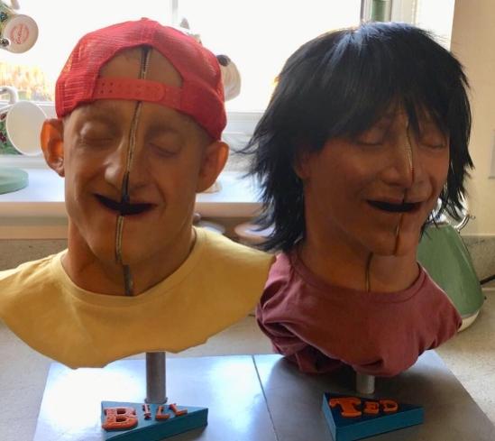 Bill & Ted Masks